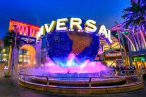 Universal Studio- Singapore trip
